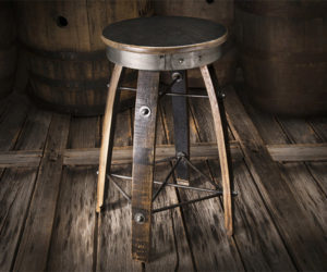 Whiskey Wood Bar Stools
