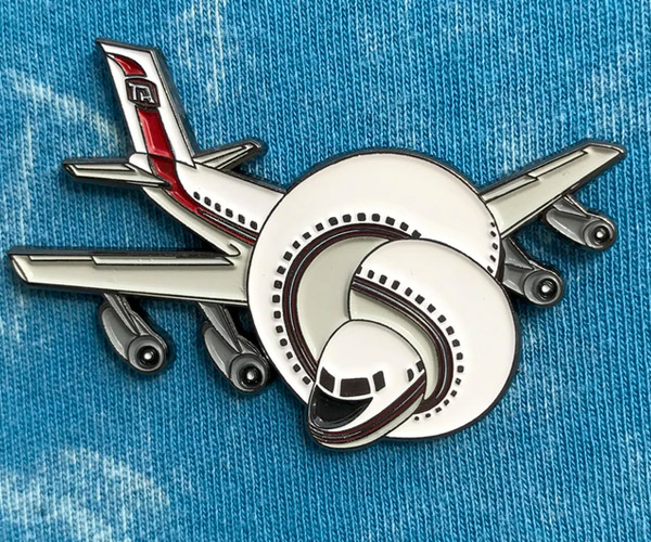 Airplane! Enamel Pin