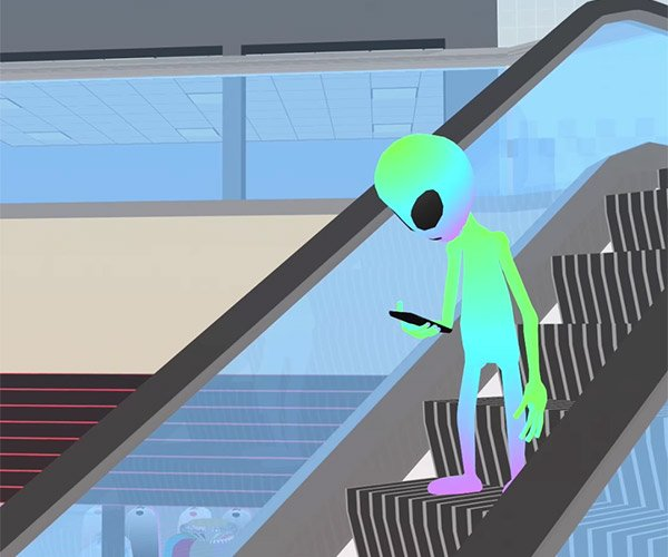 Alien at the Mall