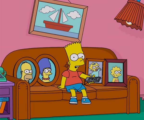 Bart Gets the Remote