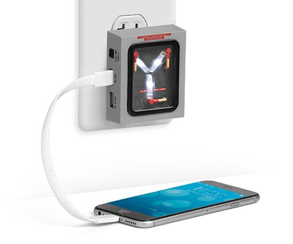 Flux Capacitor Wall Charger