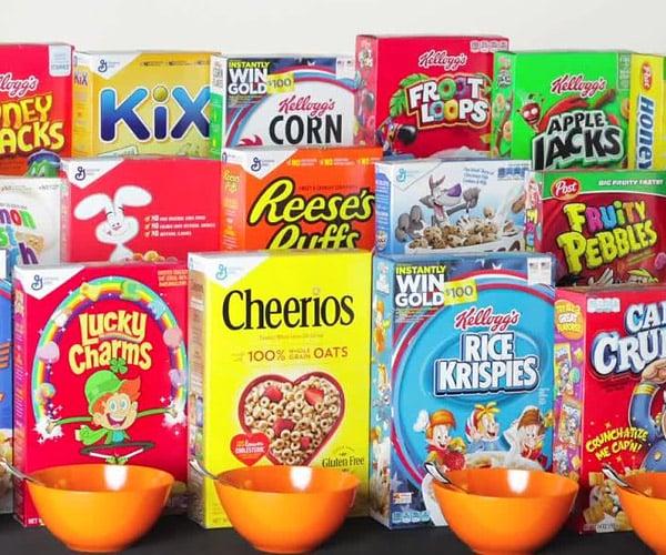 Cereal Milk Taste Challenge