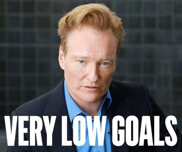 Conan O'Brien's Pep Talk