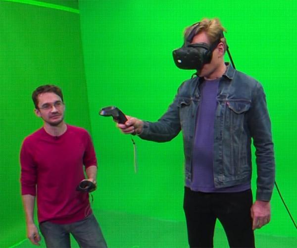 Conan Tries VR