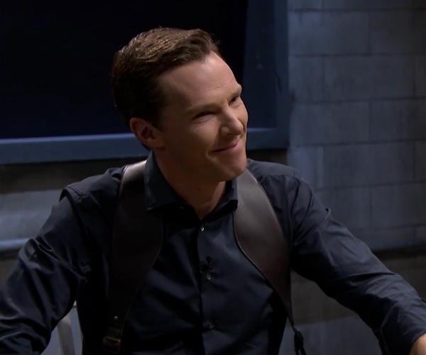 Cumberbatch & Fallon: Mad Lib Theater