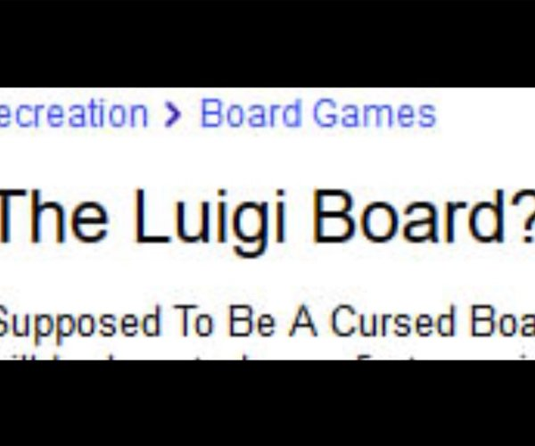 Curse of the Weggy Board
