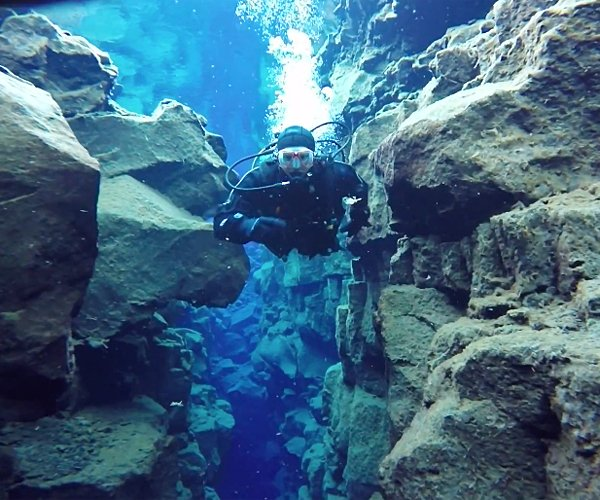 Diving Between Continents