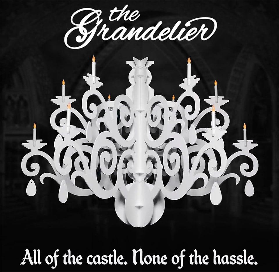 Grandelier Flat-Pack Chandelier
