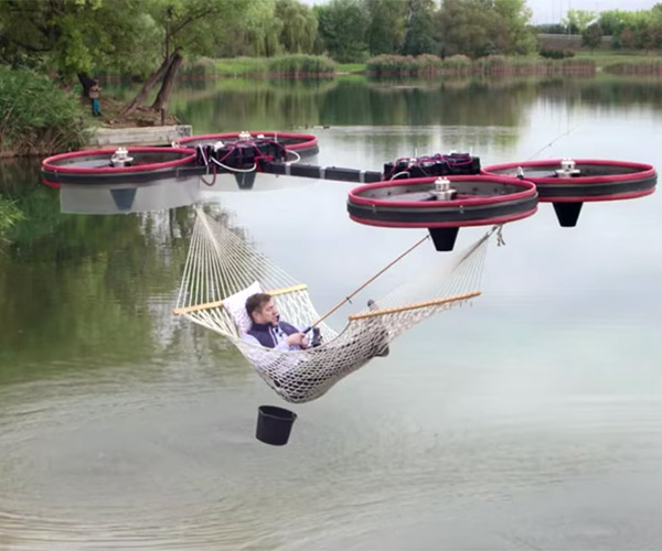 The Drone-Powered Hammock