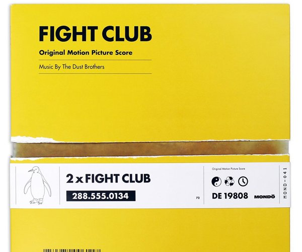 Fight Club OST 2XLP