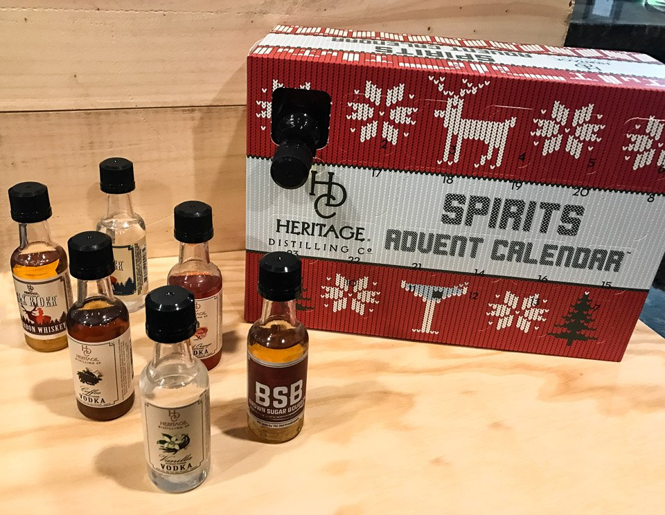 Heritage 2016 Spirit Advent Calendar