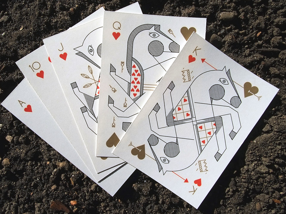 A Day at the Races Playing Cards