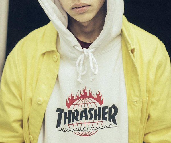 HUF x Thrasher: Tour de Stoops
