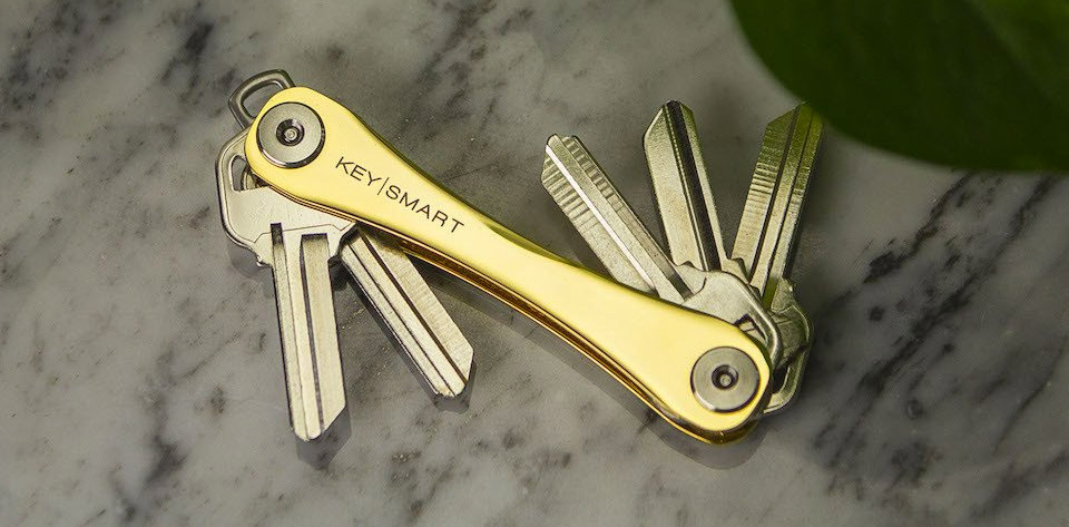 Deal: KeySmart 24K Gold Edition