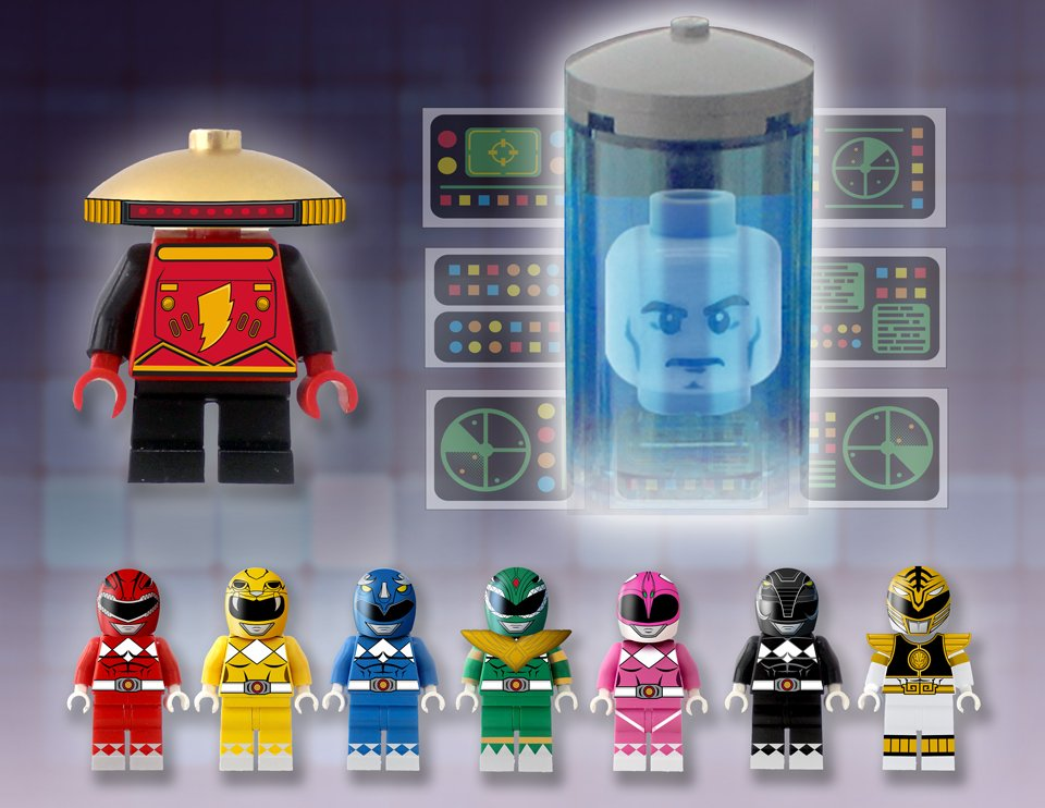 LEGO Power Rangers Concept