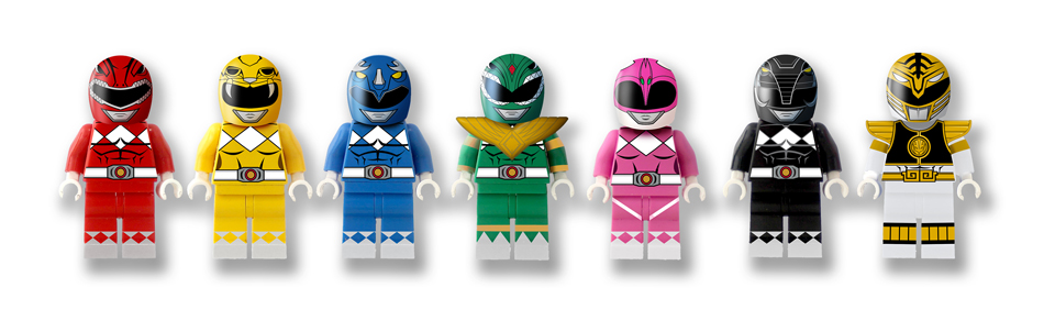 Lego Power Rangers Concept The Awesomer