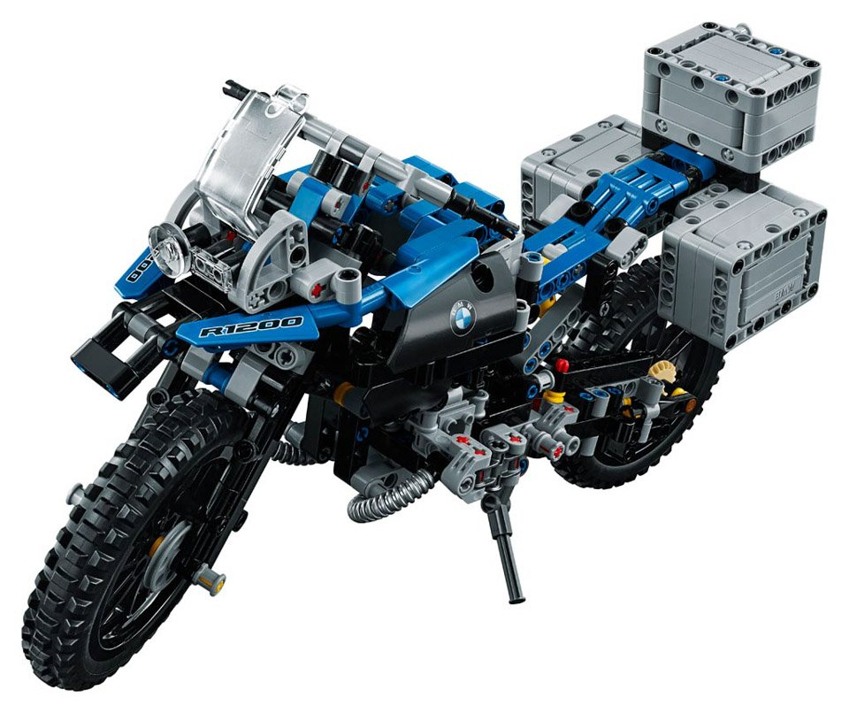 lego technic bmw r 1200 gs the awesomer. Black Bedroom Furniture Sets. Home Design Ideas