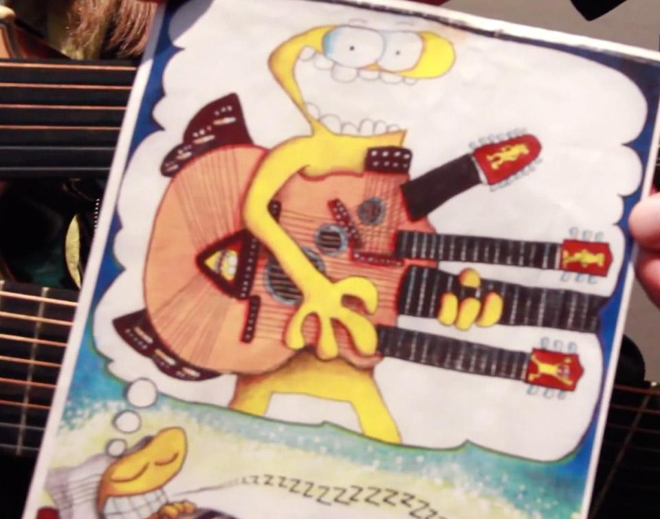 The Manzer Medusa Guitar