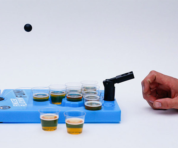 Deal: Mini Beer Pong Travel Set