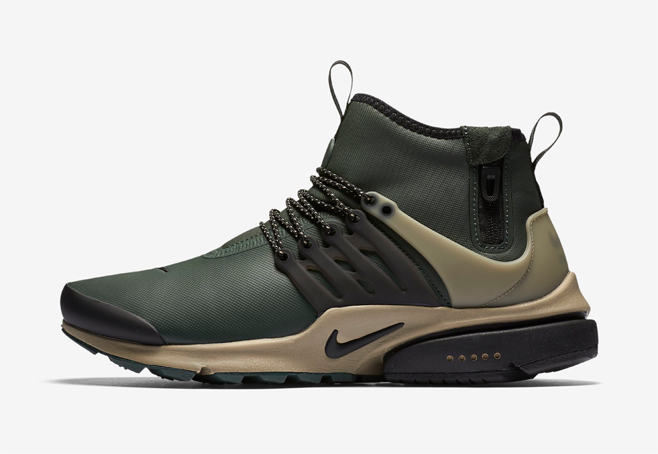 nike air presto mid utility the awesomer. Black Bedroom Furniture Sets. Home Design Ideas
