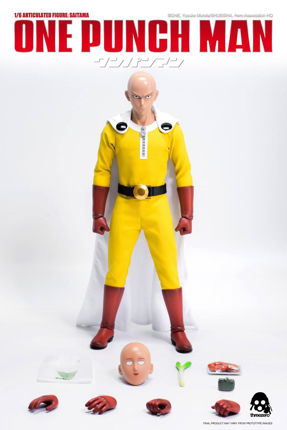 Threezero One Punch Man Action Figure