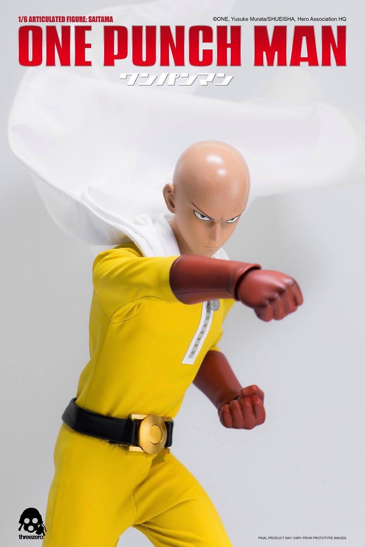 Threezero One Punch Man Action Figure