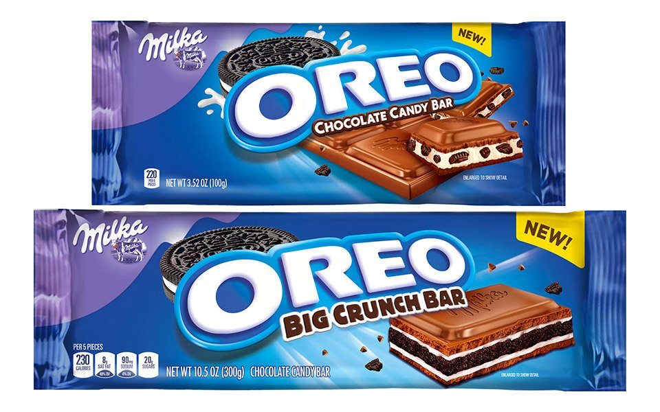 Milka Oreo Chocolate Bars