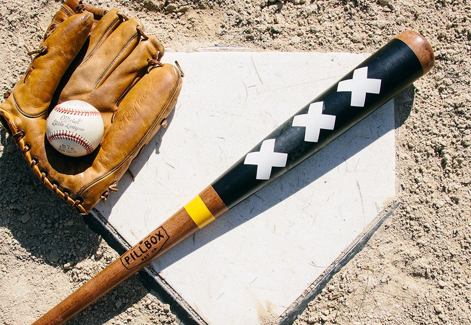 Pillbox Baseball Bats