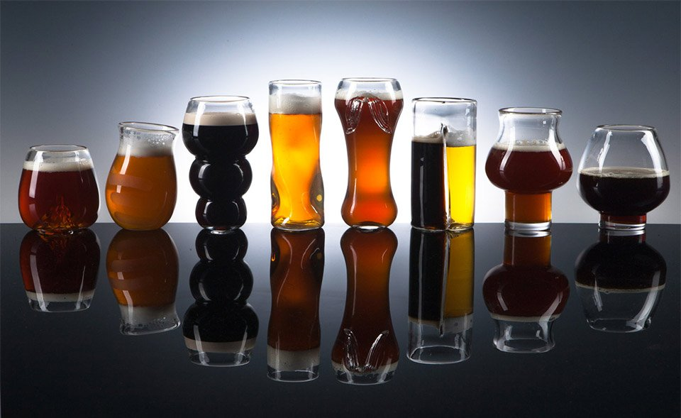 Pretentious Beer Glasses