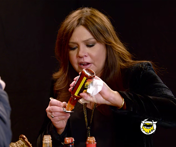 Rachael Ray vs. Hot Sauces