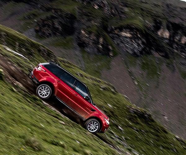 Range Rover Downhill Challenge