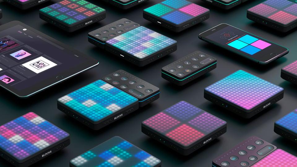 ROLI Lightpad Blocks