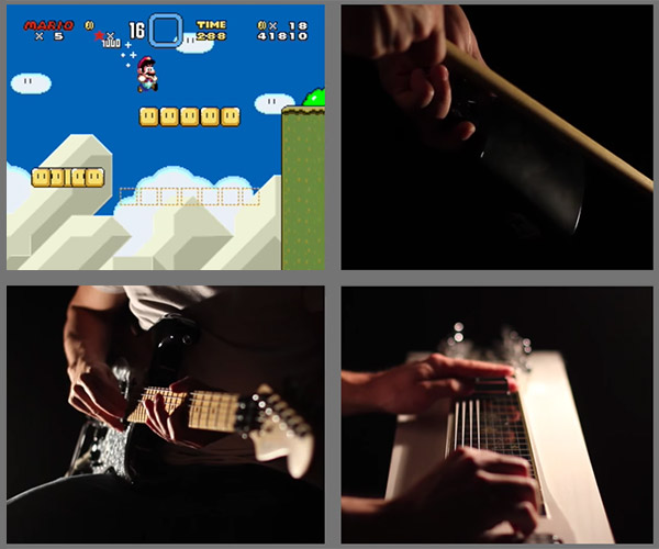 Samuraiguitarist: Super Mario World