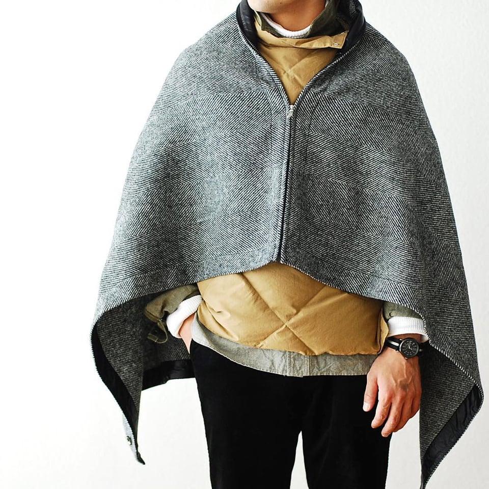North Face X Harris Tweed Blanket