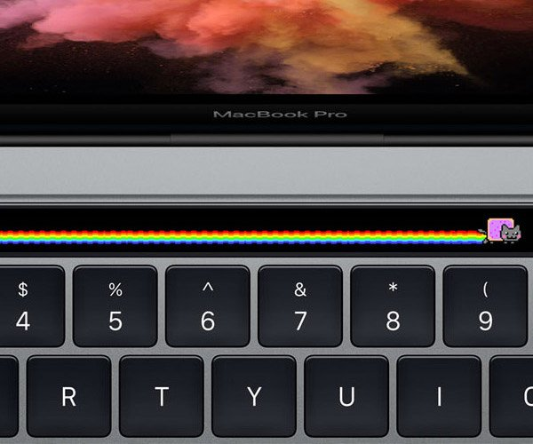 Touch Bar Nyan Cat