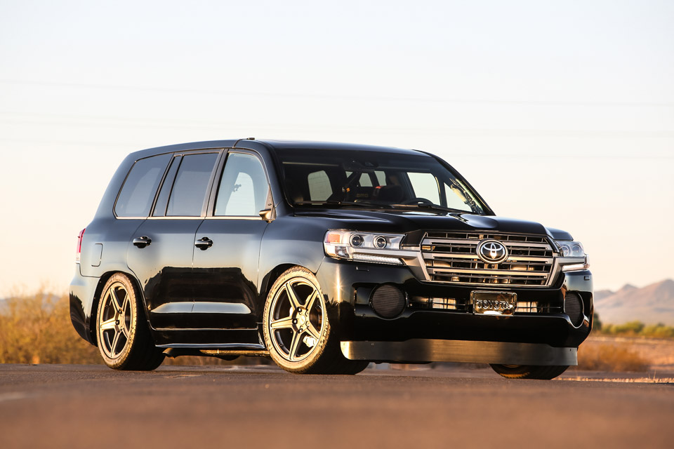 Toyota Land Speed Cruiser  The Awesomer
