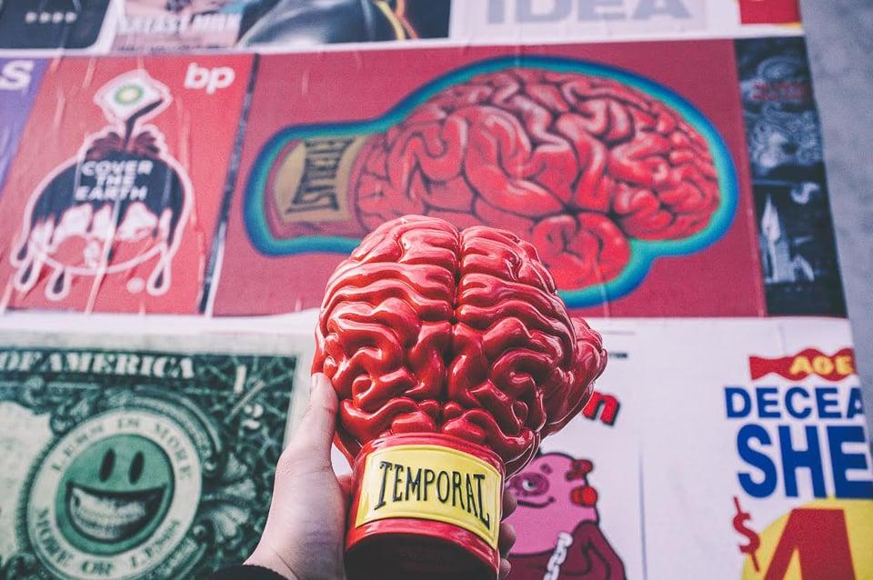 Toyqube x Ron English Boxing Brain