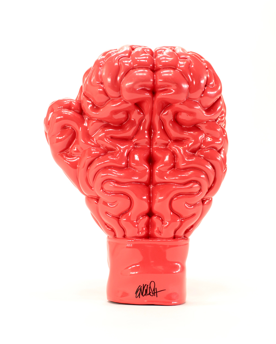 Toyqube x Ron English Boxing Brain