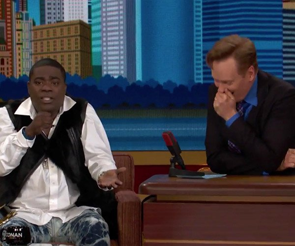 Tracy Morgan on Comedy Bombs