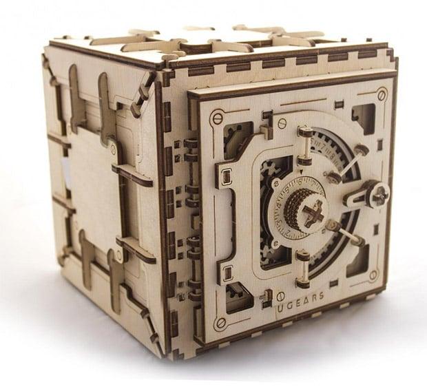 UGEARS Wooden Safe Kit