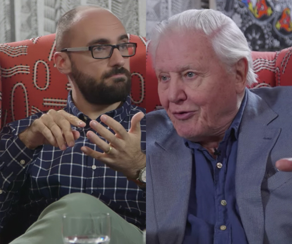 Vsauce Talks to David Attenborough
