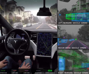 What a Self-Driving Tesla Sees