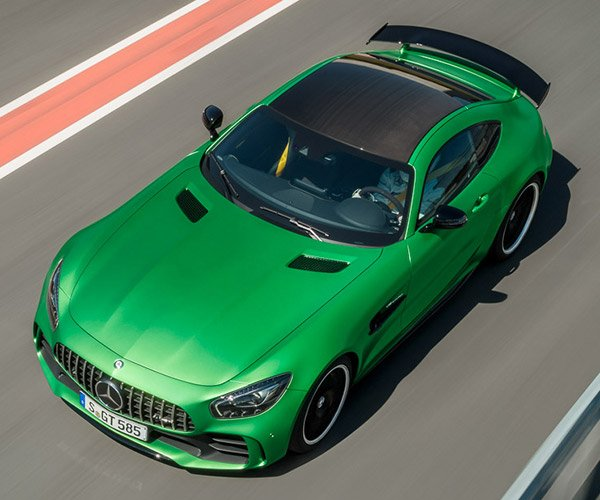 The Green Hell in an AMG GT R