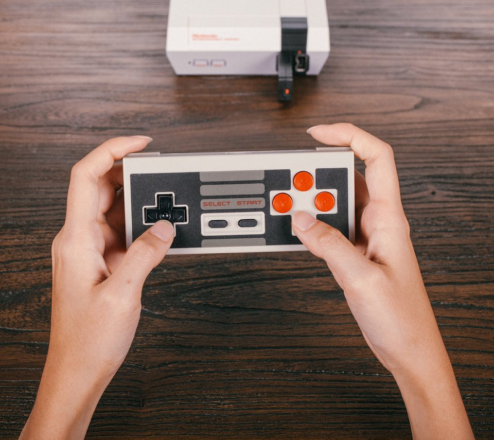 8Bitdo NES30 Wireless Set