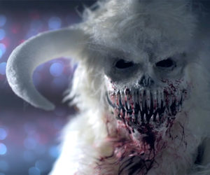 Abominable Snowman Makeup