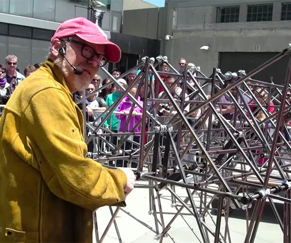 Building a Pedal-Powered Strandbeest