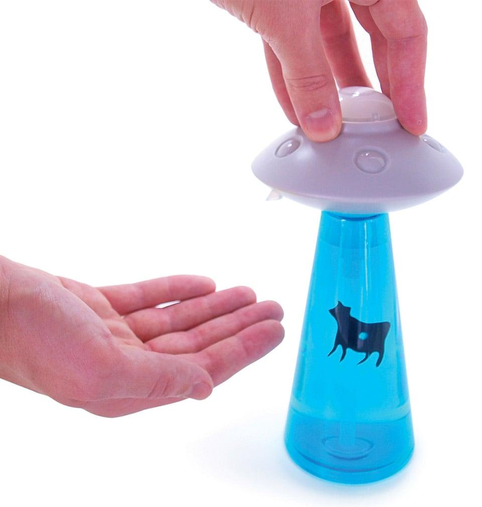 Alien Abduction Soap Dispenser