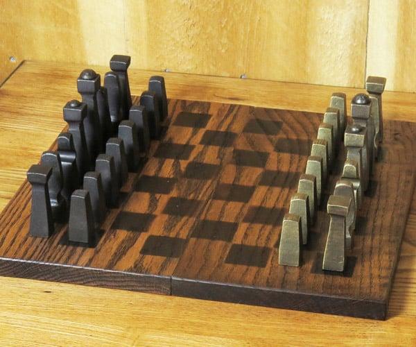 Blacksmith Chess Set