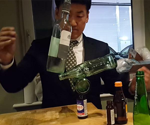 Balancing Bottles