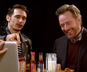 Cranston and Franco vs. Hot Wings